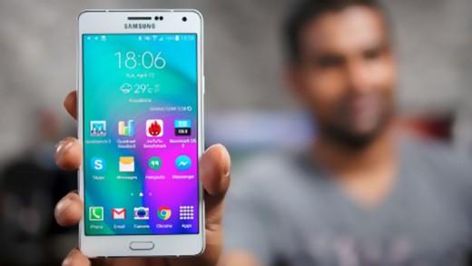 بررسی تجربه بازی با Galaxy A7 به همراه تست دما