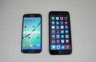 مقایسه بنچمارک و سرعت مرورگر iPhone 6 Plus و Galaxy S6 Edge