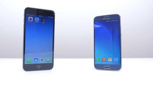 مقایسه سرعت و بنچمارک iPhone 6 Plus و Galaxy S6