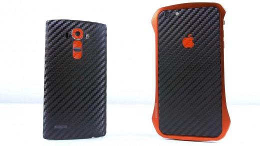 مقایسه سرعت و بنچمارک آیفون ۶ Plus با ال جی G4