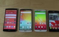 مقایسه بنچمارک Geekbench3 روی LG G4 و G3 و G2 و Optimus G