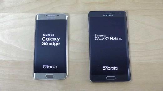 مقایسه سرعت بوت Galaxy Note Edge و Galaxy S6 Edge