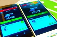 مقایسه بنچمارک Galaxy Note 3 و HTC One M8