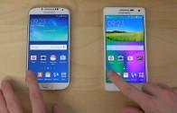 مقایسه سرعت Galaxy S4 با اندروید ۵ و Galaxy A5 با کیت کت