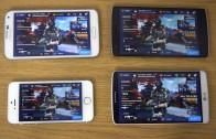 مقایسه اجرای بازی Modern Combat 5 روی Galaxy S5 و G3 و iPhone 5S و OnePlus One