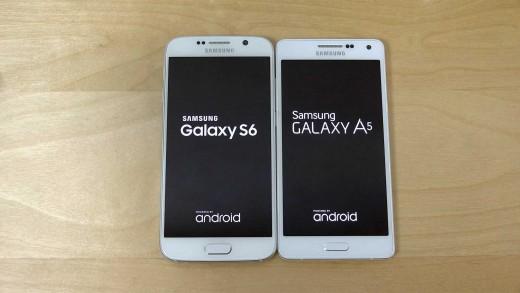 مقایسه سرعت بوت شدن Galaxy A5 و Galaxy S6