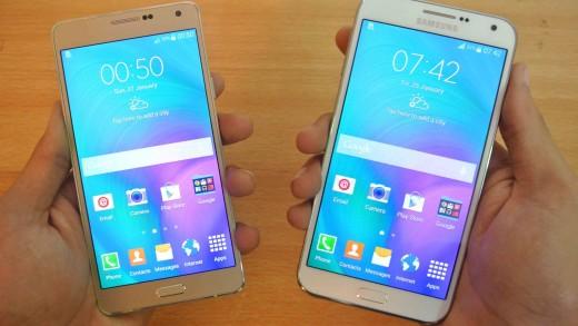 مقایسه Galaxy A7 و Galaxy E7 ، کدام انتخاب بهتری است؟