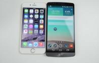 مقایسه سرعت iPhone 6 و LG G3