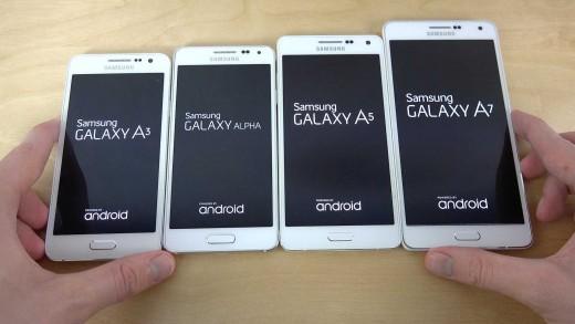 مقایسه سرعت بوت شدن Galaxy A7 و Galaxy A5 و Galaxy A3