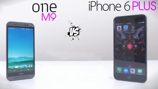 مقایسه سرعت و بنچمارک iPhone 6 Plus و HTC One M9