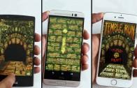 مقایسه سرعت باز شدن اپ و مولتی تسکینگ در LG G4 و iPhone 6 و HTC M9