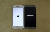مقایسهی سرعت بوت و وبگردی iPhone 6 با iOS 8.4 و Galaxy S6 Edge با اندروید ۵٫۰٫۲