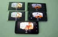 مقایسه اجرای بازی ۳ GTA San Andreas روی: Huawei P8 ، Note 4 ، Nexus 6 ، Galaxy S5 ، Xperia Z2