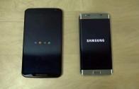 مقایسه سرعت بوت شدن اندروید ۶ مارشملو در Nexus 6 و اندروید ۵٫۰٫۲ در S6 Edge