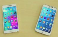 مقایسه سرعت اجرای اپ میان Galaxy S5 و Galaxy A5