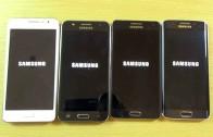 مقایسه بنچمارک و سرعت اینترنت Galaxy A5 و Galaxy J5 و Galaxy S6 و Galaxy Grand Prime