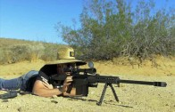 شلیک با گلوله کالیبر ۵۰ به ال جی وی ۱۰