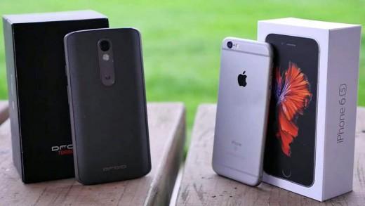تست سقوط آیفون ۶ اس و دروید توربو ۲ اولین تلفن هوشمند با نمایشگر نشکن